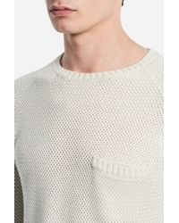 Saturdays NYC - White Keith Sweater for Men - Lyst