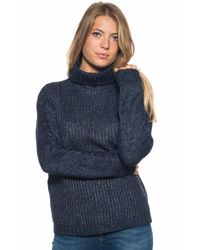 U.S. POLO ASSN. - Blue Wool Jumper - Lyst