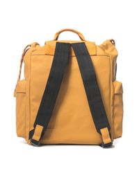 Mandarina Duck - Yellow Canvas Rucksack - Lyst