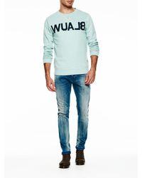 Scotch & Soda - Blue Amsterdams Blauw Sweatshirt for Men - Lyst