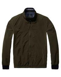 Scotch & Soda - Green Short Basic Jacket for Men - Lyst