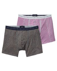 Scotch & Soda | Gray 2-pack Melange Boxer Shorts for Men | Lyst