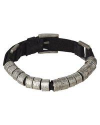 Scotch & Soda - Black Scotch Bracelet for Men - Lyst