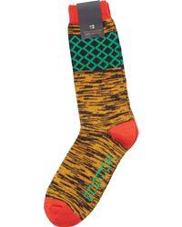 Scotch & Soda - Multicolor Melange Socks for Men - Lyst
