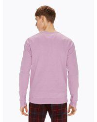 Scotch & Soda - Purple Garment Dyed Sweater for Men - Lyst