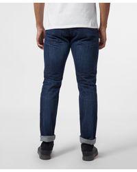 Edwin Blue Ed55 Kingston Regular Tapered Jeans for men
