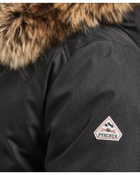 Pyrenex - Black Annecy Padded Jacket - Online Exclusive for Men - Lyst
