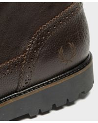 Fred Perry - Multicolor Northgate Boot for Men - Lyst