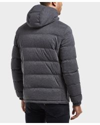 EA7 - Gray Mountain Padded Jacket for Men - Lyst