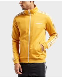 Adidas Originals - Mens Beckenbauer Track Top Yellow for Men - Lyst