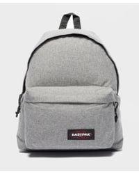 Eastpak Padded Pak r Backpack In Gray in Gray for Men - Lyst 22a122d669b95