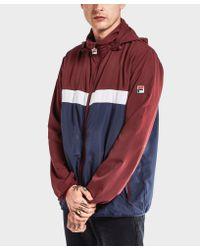 Fila | Multicolor Cipolla Zip Through Jacket for Men | Lyst