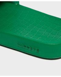 Lacoste - Green Frasier Deluxe Slides for Men - Lyst