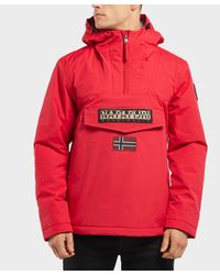 Napapijri - Red Rainforest Padded Jacket for Men - Lyst