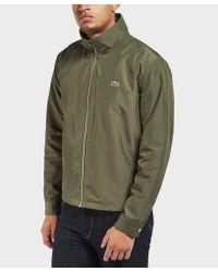Lacoste - Green Lightweight Jacket for Men - Lyst