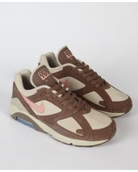 ce28cfaa39 Nike Air Max 180 String / Pink / Brown in Brown for Men - Lyst