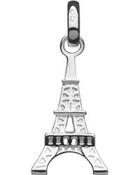 Links of London - Metallic Eiffel Tower Sterling Silver Charm - Lyst