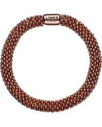 Links of London - Metallic Effervescence Star Rose-gold Plated Bracelet - Lyst