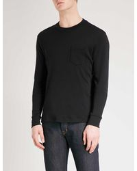 Tom Ford - Black Pocket-detailed Cashmere Top for Men - Lyst