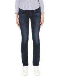 Citizens of Humanity | Blue Arielle Slim-fit Mid-rise Jeans | Lyst