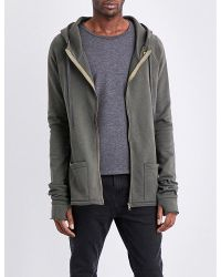 DEADWOOD | Gray Cotton Hoody for Men | Lyst