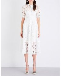 Temperley London - White Berry Lace Dress - Lyst