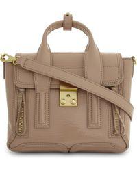 3.1 Phillip Lim | Brown Ladies Ceramic Innovative Luxurious Pashli Leather Mini Satchel | Lyst