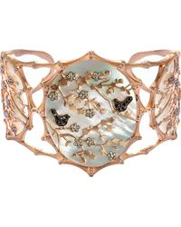 Annoushka | Metallic Dream Catcher 18ct Rose Gold And Diamond Cuff | Lyst
