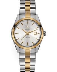 Rado | Metallic R32088112 Hyperchrome Stainless Steel And Yellow Gold Watch for Men | Lyst