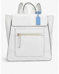Smythson - White Bond Backpack - Lyst