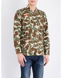 Levi's | Green Camouflage Military Jacket for Men | Lyst