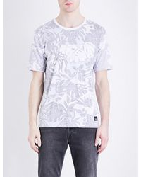 Levi's | White Line 8 Wilderness-print Cotton-jersey T-shirt for Men | Lyst