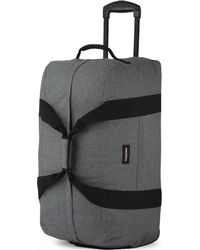 Eastpak - Gray White Practical Authentic Container 65 Wheeled Duffle Bag for Men - Lyst