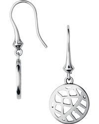 Links of London - Metallic Timeless Sterling Silver Drop Earrings - Lyst