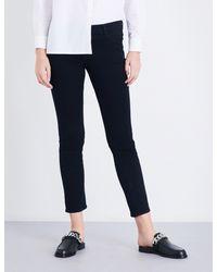 J Brand - Ladies Shadow Black Classic Maude Cigarette Mid-rise Jeans - Lyst