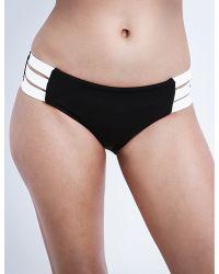 Seafolly | Black Block Party Hipster Bikini Bottoms | Lyst