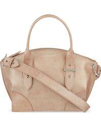 Alexander McQueen - Natural Legend Small Leather Shoulder Bag - Lyst