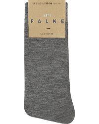 Falke | Gray No 1 Cashmere Ankle Socks | Lyst