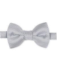 Ermenegildo Zegna   Blue Silk Bow Tie for Men   Lyst