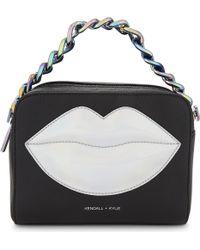 Kendall + Kylie - Black Lucy Lips Cross-body Bag - Lyst