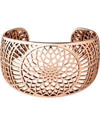 Links of London | Pink Timeless 18ct Rose-gold Vermeil Cuff | Lyst