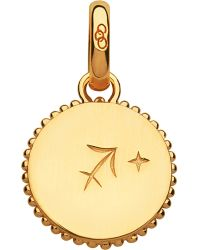 Links of London | Sagittarius 18ct Yellow-gold Zodiac Charm | Lyst