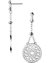 Links of London | Metallic Timeless Sterling Silver Earrings | Lyst
