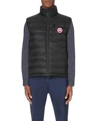 Canada Goose | Black Lodge Quilted Gilet for Men | Lyst