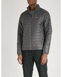 Patagonia - Gray Nano Puff Recycled Shell Jacket for Men - Lyst