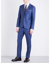 Paul Smith - Blue Soho-fit Wool Suit for Men - Lyst