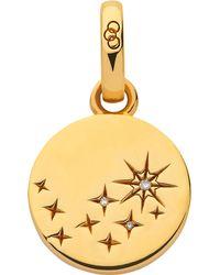 Links of London - Metallic Amulet 18ct Yellow Gold Vermeil And Diamond Destiny Charm - Lyst