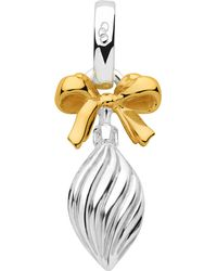 Links of London | Metallic Sterling Silver And 18ct Gold Vermeil Drop Bauble Charm | Lyst