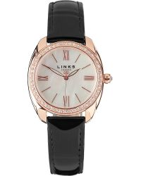 Links of London - Pink Bloomsbury Rose Gold-plated Watch - Lyst
