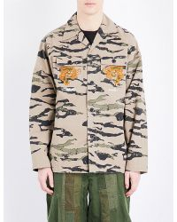 Maharishi | Multicolor Camouflage-print Cotton Jacket for Men | Lyst